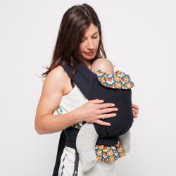 Porte-bébé Mei-Tai Physiologique Cercles de 3.5kgs- 15kgs