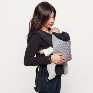 Porte-bébé physiologique Etoiles
