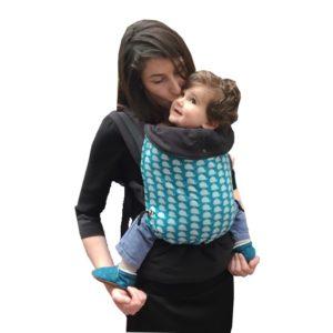 Porte-bébé physiologique Baleines