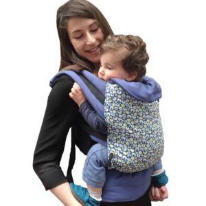 Porte-bébé physiologique Bulles