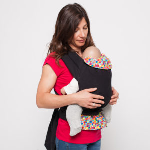 Porte-bébé Mei-Tai physio Coeurs