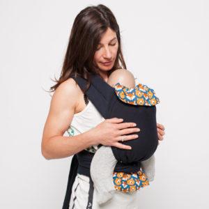 Porte-bébé Mei-Tai physio Ours et Renards