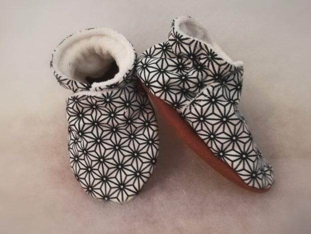 Chaussons bébé style Japonnais