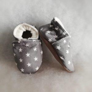 Chaussons bébé Etoiles