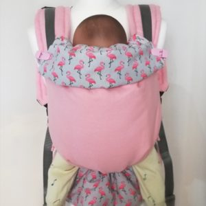 Porte-bébé physiologique Rose