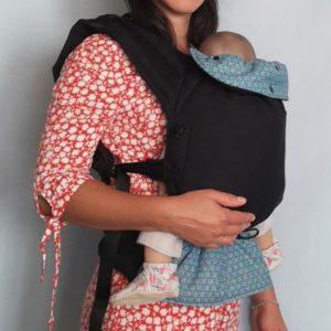 Porte-bébé physiologique à clips